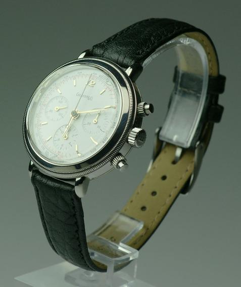 Relógio Eberhard Chronografo 31028 Lemania 1873 Rarissímo