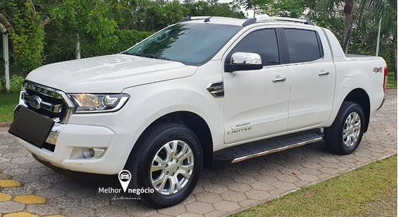 Ford Ranger Limited 3.2 Cd 4x4 Diesel Aut. 2019 Branca