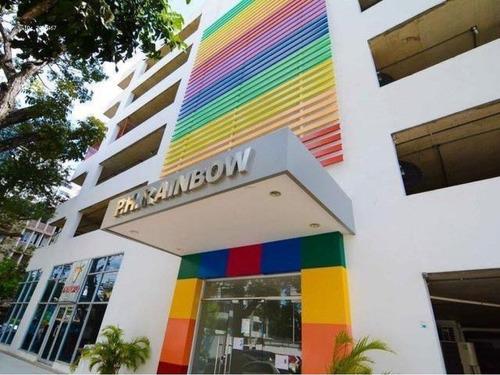 Imagen 1 de 14 de Venta De Apartamento Amoblado En Rainbow, El Carmen 20-10322