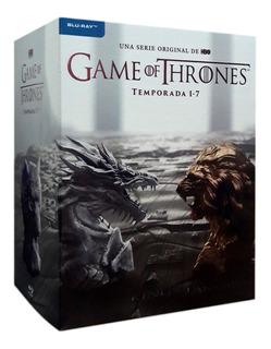Game Of Thrones Juego Tronos Paquete Temporada 1 - 7 Blu-ray