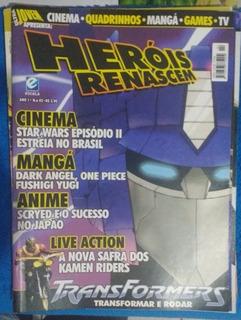 Revista Ultra Jovem Heróis Renascem Ano 01 N°02