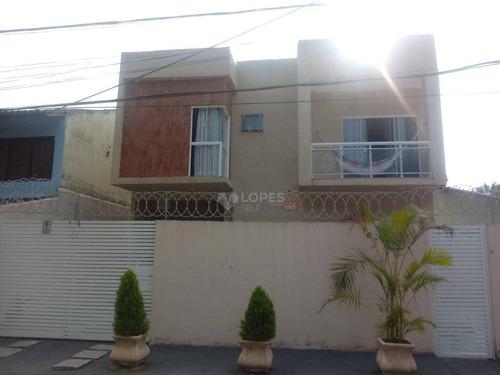 Imagem 1 de 7 de Casa Duplex Com 3 Dormitórios À Venda Por R$ 520.000 - Engenho Do Mato - Niterói/rj - Ca20381