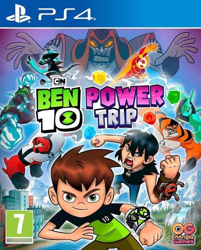 Imagen 1 de 3 de Ben 10 Power Trip Ps4 Fisico / Mipowerdestiny