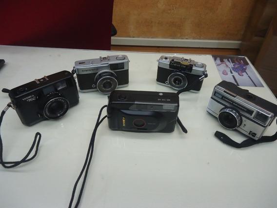 Lote - Máquinas Fotográficas Antiga - Cx 05
