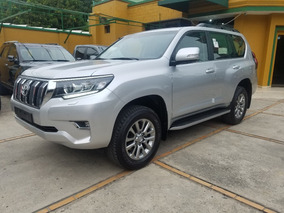 2019 Toyota Prado Vx-l Motor 3.0 Plateado 5p Blindaje 2+