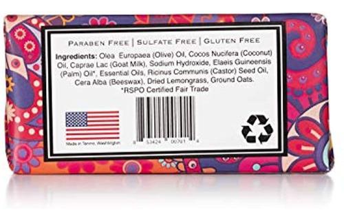 Lemongrass - 100% Natural Premium Goat Milk Soap 5 Oz Bar