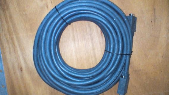 Cable Blindado Vga Para Monitores Y Proyectores De 15 Pines