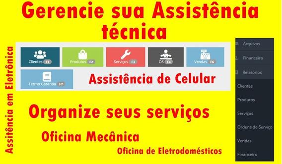 Programa Para Assistência De Celulares Com Termo De Garantia