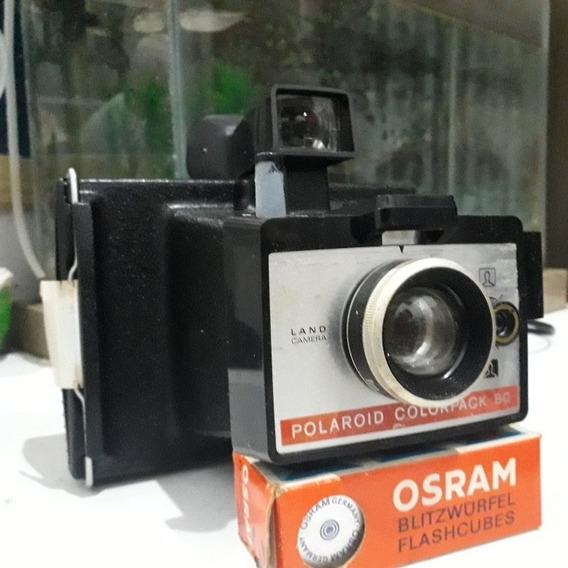 Camera Antiga Marca Polaroid Modelo Colorpack 80