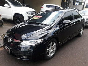 Honda Civic Sedan Exs 1.8 Preto 2008