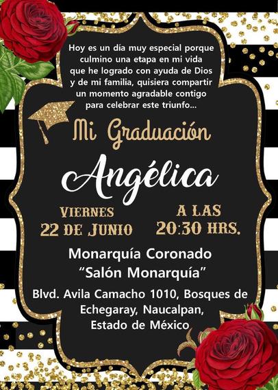 Invitaciones Graduacion Universidad Tepic En Mercado Libre