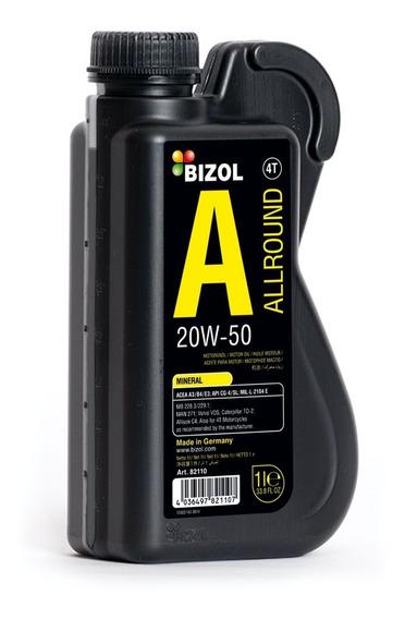 Aceite Semi-sintetico 20w-50 - Bizol (1 Litro)