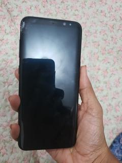 Samsung Galaxy S8 Plus Com Tela Dianteira Quebrada