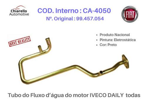 Tubo Do Fluxo Dágua Do Motor Iveco Daily  Todas