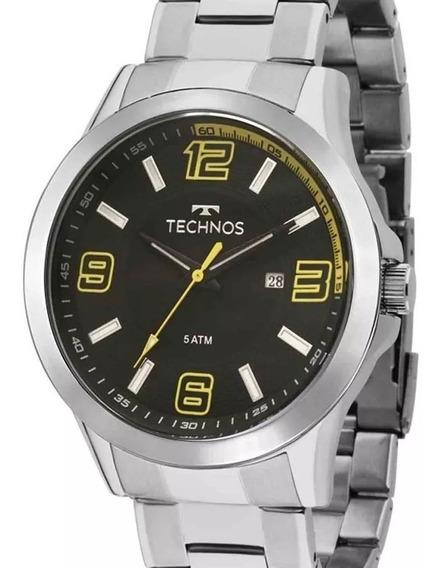 Relógio Technos Masculino Prata Performer Racer-2115klm/1y