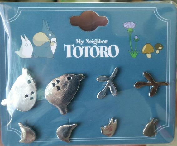 Aretes My Neighbor Totoro Studio Ghibli Nuevo Original