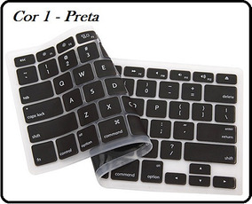 Protetor Silicone Teclado Macbook Pro Air 13 15 17