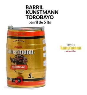 Barril De Cerveza 5 Lts. Vacío Marca Kunstmann Torobayo