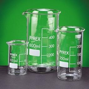 Vaso De Precipitado Pyrex 100-250 Caja Con 12 Piezas