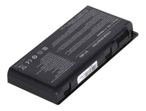 Bateria Para Notebook Msi Gt680