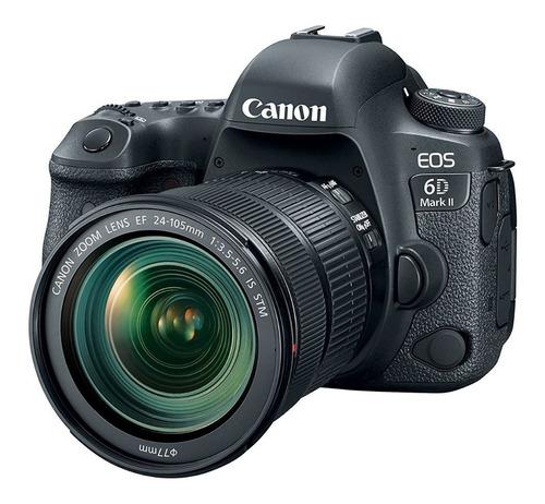 Canon Eos 6d Mark Il Cámara Fotografica Wi-fi 24-105mm Stm