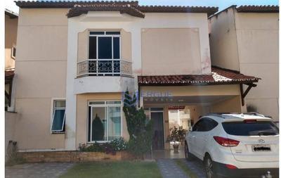 Casa Com 3 Dormitórios À Venda, 180 M² Por R$ 379.000 - Jacundá - Eusébio/ce - Ca0836