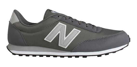 Tenis Unisex Estilo Casual Sneaker Gris U410ca New Balance