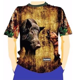Camiseta Manga Curta Caçadores Brs- Acuação 2