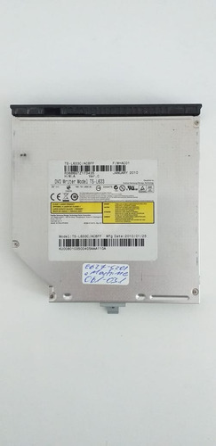 Drive Leitor Dvd Cd Notebook Emachines E627