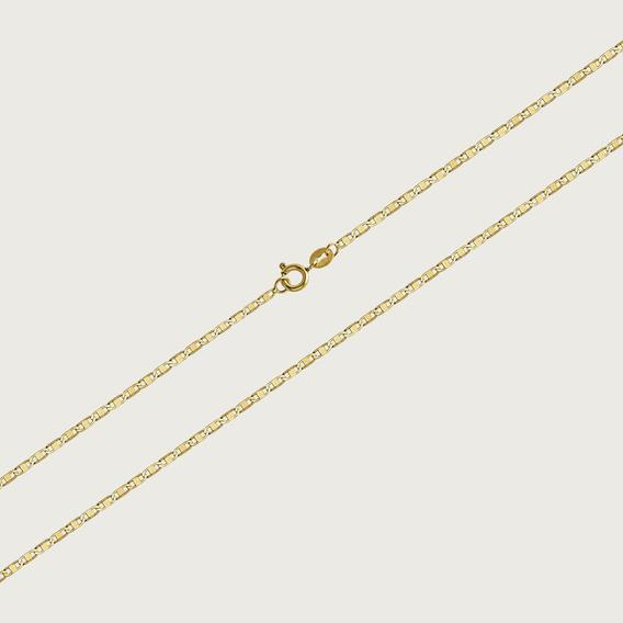 Cordão Em Ouro 18k Com 50cm - 1,6gr