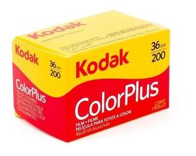 6 Filmes Kodak Colorplus 200 35mm 36 Poses Venc 01/2021