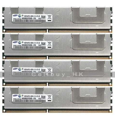 Memoria Ram 32gb(16gbx2)pc3-8500r Ecc Ddr3 M393b2k70bm1-cf8