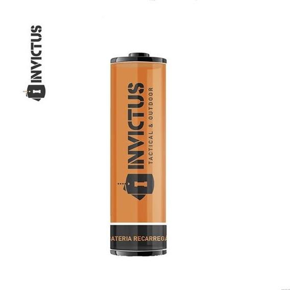 Bateria Invictus Recarregável 14500 - 2 Unidades