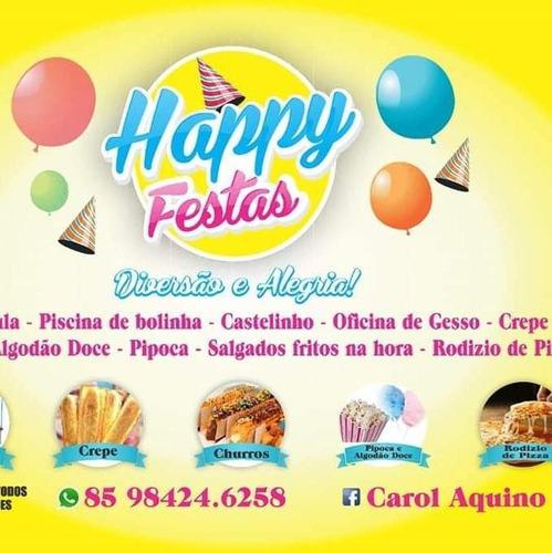 Imagem 1 de 5 de Happy Festas Vários Serviço Para Sua Festa