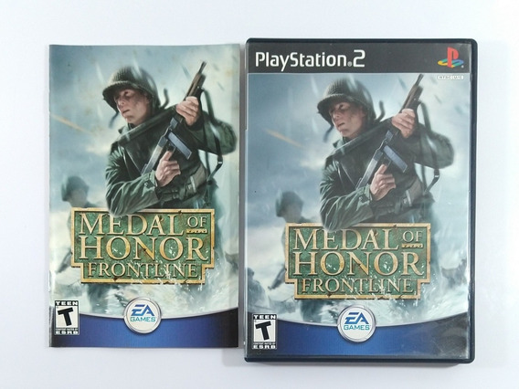 Medal Of Honor Frontline Original Americano Ps2