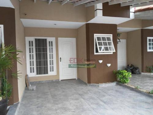 Imagem 1 de 22 de Casa Com 2 Quartos À Venda, 73 M² Por R$ 250.000 Cidade Jardim - Jacareí/sp - Ca3038
