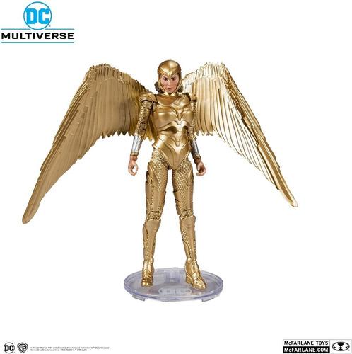Imagem 1 de 9 de Mcfarlane Toys Dc Multiverse Wonder Woman Armadura Dourada