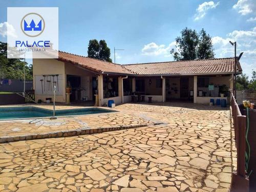 Imagem 1 de 10 de Chácara Com 4 Dormitórios À Venda, 4200 M² Por R$ 430.000 - Centro (tupi) - Piracicaba/sp - Ch0083
