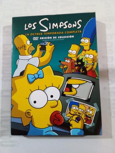 Imagen 1 de 8 de Los Simpsons 8va Temp - Box Set 4 Dvd - Fox 2007 - U