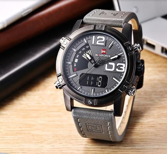 Relógio Naviforce 9095 Masculino Confira Promoção Lindo