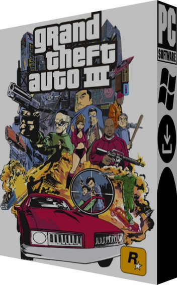 Grand Theft Auto (gta) 3 Pt Br - Pc - Mídia Digital