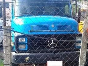 Caminhão Mb 1519 Azul - Ano 1982