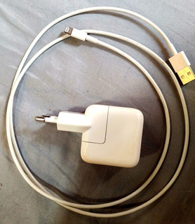 Carregador Original Apple Usb 10w + Cabo Original Apple P/ iPhone - A1357
