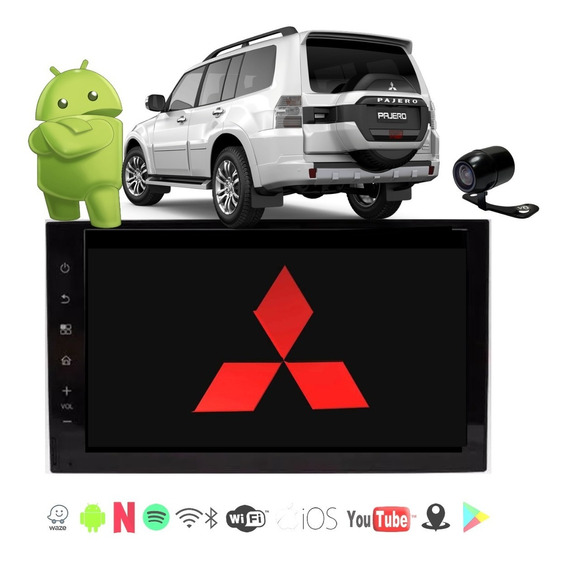Kit Central Multimidia Pajero Full 2000 A 2007 Phonelink