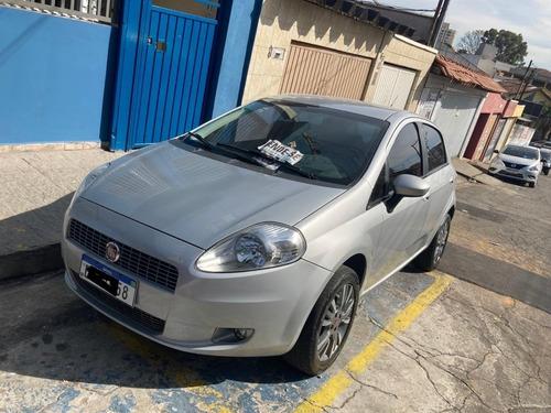 Fiat Punto Elx 1.4 Flex 5p Completo + Rodas E Couro