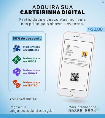 Carteirinha Estudantil Digital