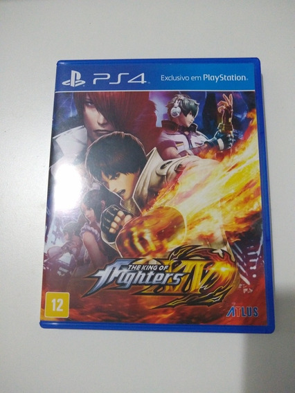 The King Of Fighters Xiv Ps4 Mídia Fisica