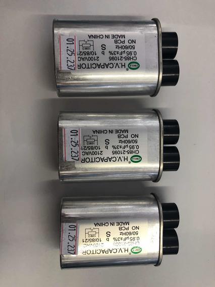 Kit 3 Peças Capacitor De Alta Tensão Microondas 0.95 X 2100