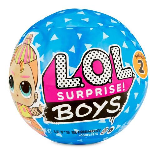 Lol Muñeco L.o.l Surprise Boys Nenes Sorpresa Wab Educando