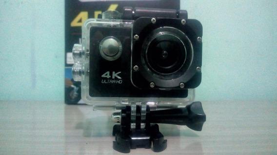 Câmera De Ação 4k Ultrahd E Case Aprova D